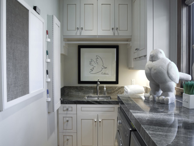 Laundry Rooms by Cameo Homes Inc. in Utah contemporary-laundry-room