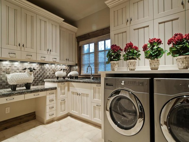 Laundry Rooms by Utah's Cameo Homes Inc. contemporary-laundry-room