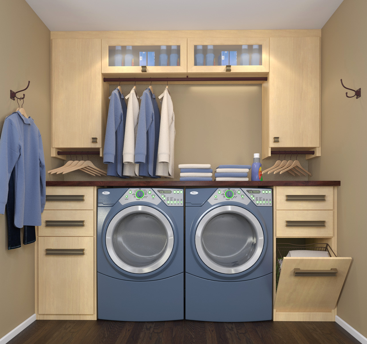 75 Beautiful Laundry Room With Laminate Countertops Pictures Ideas March 2021 Houzz