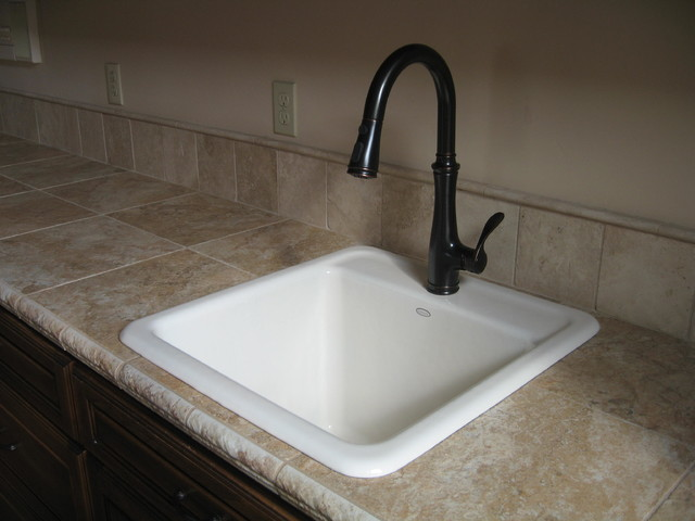Laundry Room Undermount Sinks : ... Deep Kohler Laundry Sink Custom Sink Traditional Laundry Room Ideas