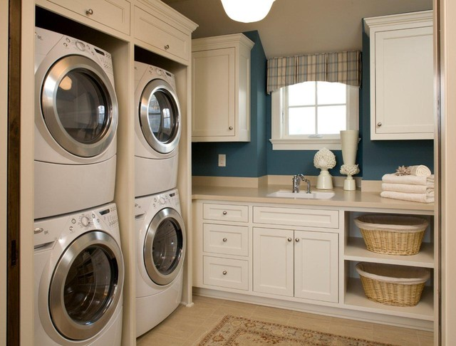 Laundry traditional-laundry-room