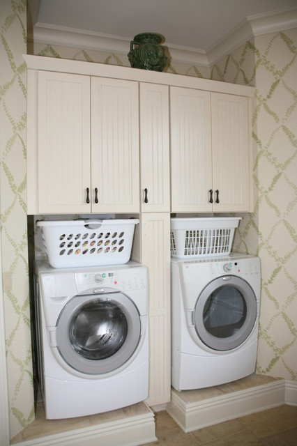 Laundry Storage traditional-laundry-room