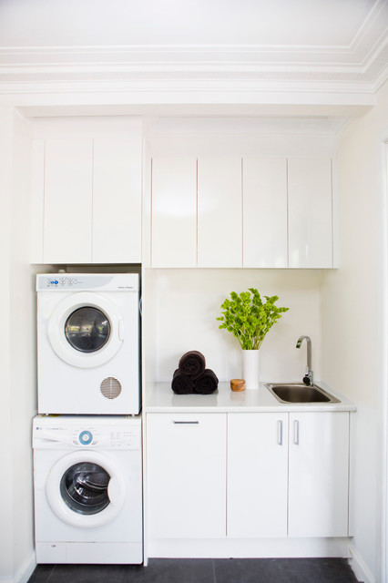 Laundry Tapware Contemporary Laundry Room Melbourne