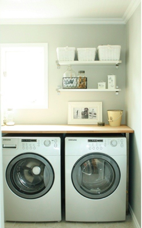 Life in the Fun Lane Blog eclectic laundry room