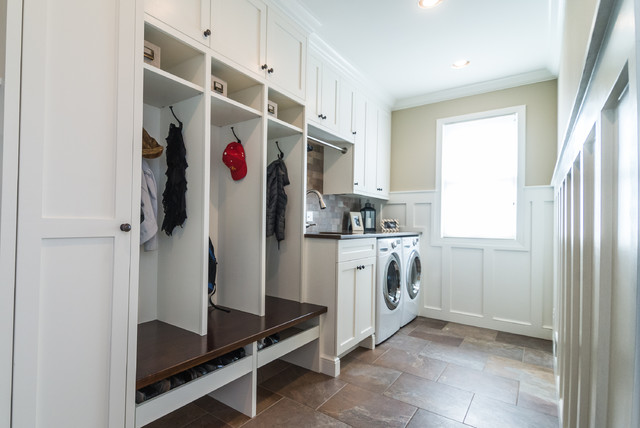 Linda S Mudroom Laundry Room Craftsman Laundry Room