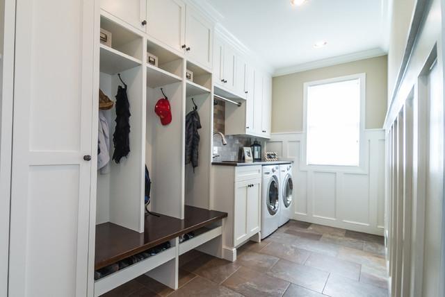 Linda S Mudroom Laundry Room Craftsman Laundry Room