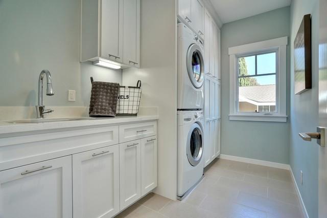 Live Oak transitional-laundry-room