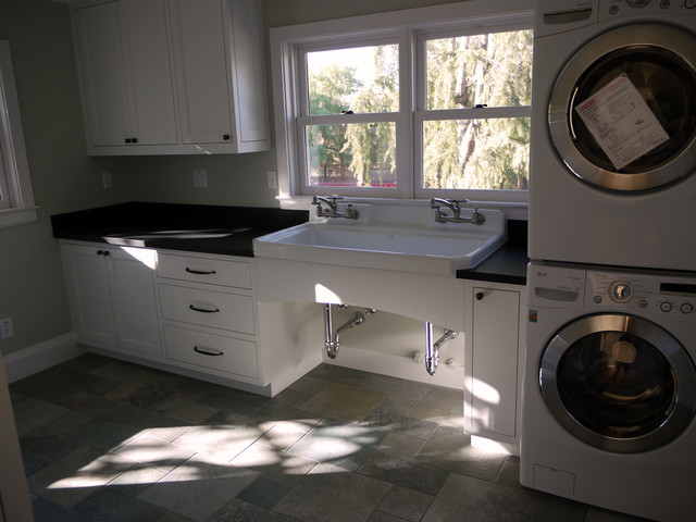 Living Spaces contemporary-laundry-room