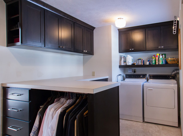 Lux laundry bath for Laundry room connected to master closet