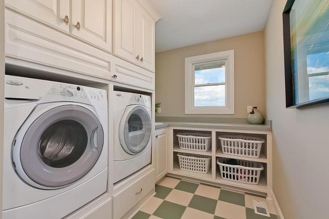 Luxury Home Traditional Laundry Room Minneapolis By Kathie Karsnia Interiors