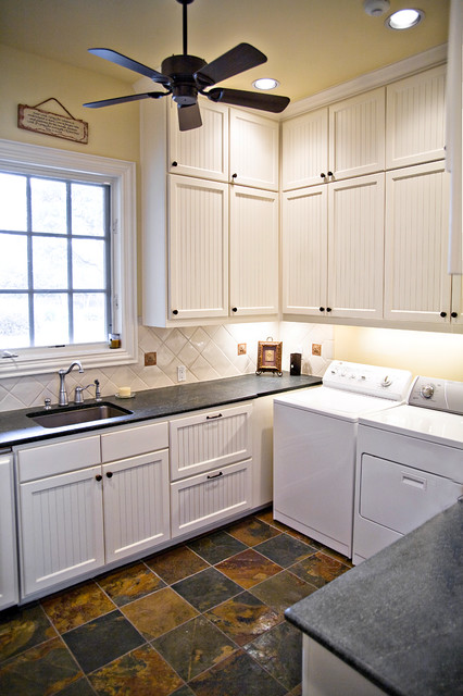 Luxury Home With A View Traditional Laundry Room