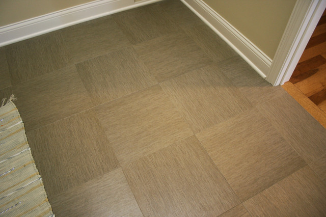 Luxury Vinyl Tile Lvt Contemporary Utility Room Chicago By