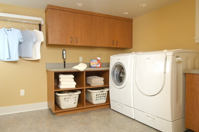 madrona basement laundry
