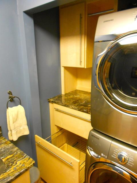 Main Floor Laundry Contemporary Laundry Room