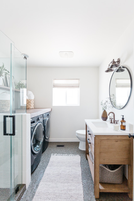 Laundry-Bathroom Combo: How to Form the Perfect Team ...