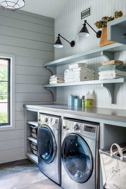 Marietta Modern Farmhouse farmhouse-laundry-room