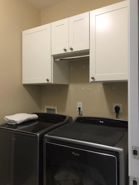 Master Walk-in Closet & Laundry Room Cabinets - Greer, SC