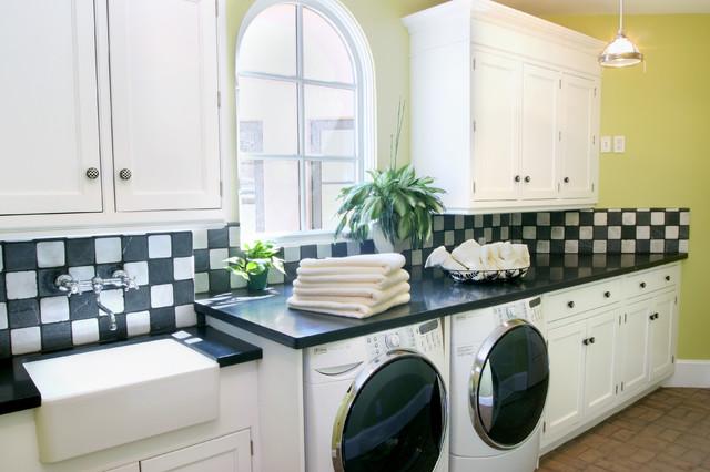 McDowell Mountain Villa traditional-laundry-room
