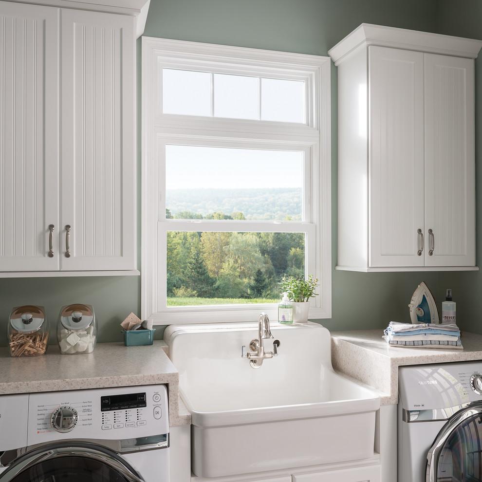 MI Windows & Doors - Farmhouse - Laundry Room - Santa ...