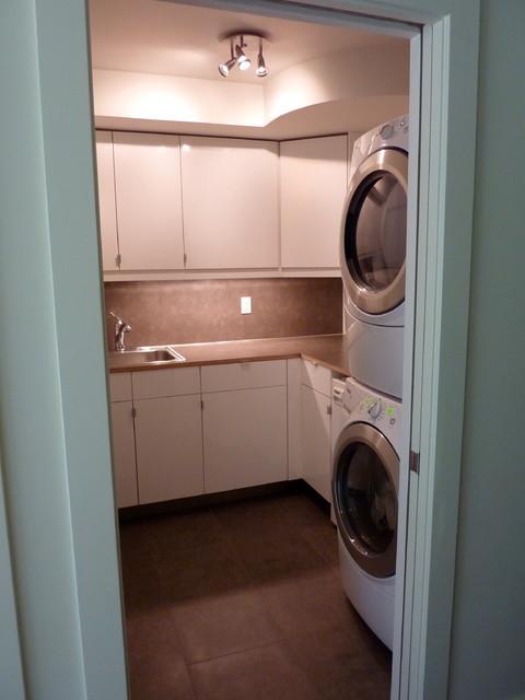 Mid-Century Remodel modern-laundry-room