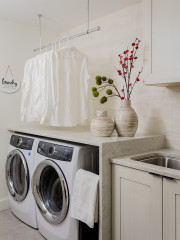 New This Week: 7 Smart and Stylish Laundry Rooms