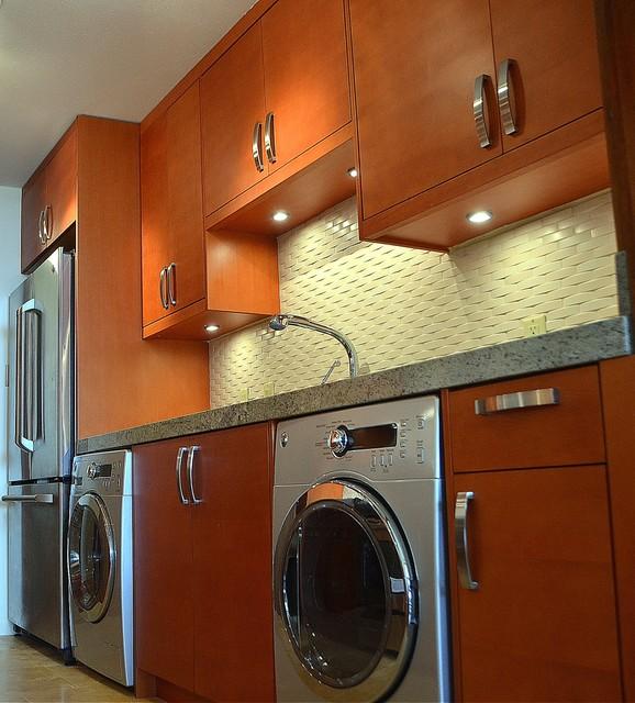 Milie Designed contemporary-laundry-room