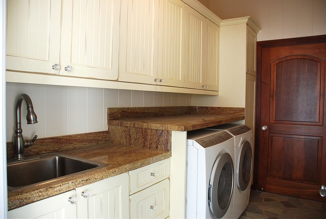Milie Designed traditional-laundry-room