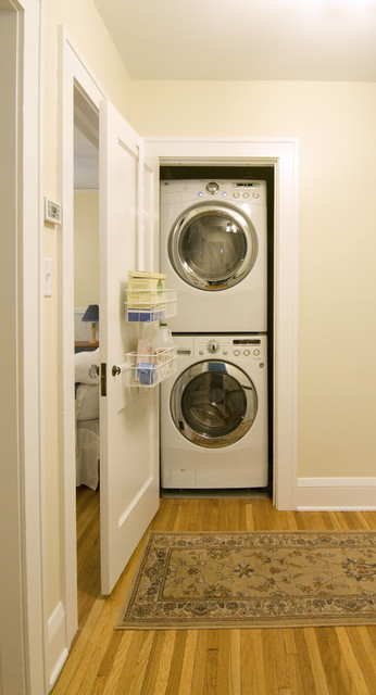 Contemporary House Remodel and Addition contemporary laundry room