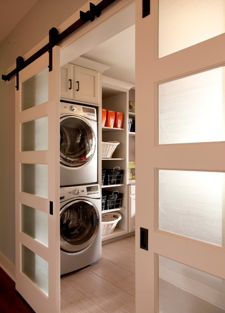 Model Home - Traditional - Laundry Room - detroit - by VanBrouck & Associates, Inc.