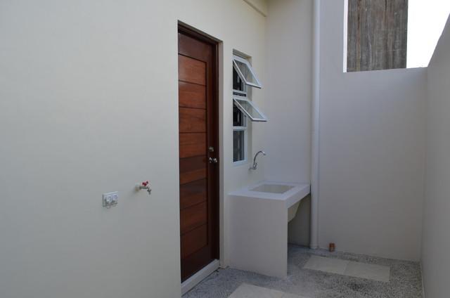 Modern Asian Duplex contemporary-laundry-room