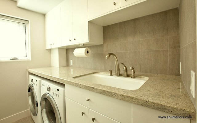 Laundry Modern Room Los Angeles By SH