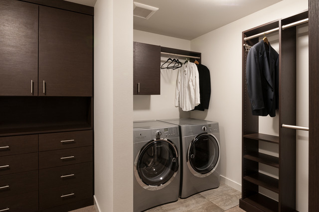 MODERN LUXURY - HOME FOR SALE  MLS # 566713 contemporary-laundry-room