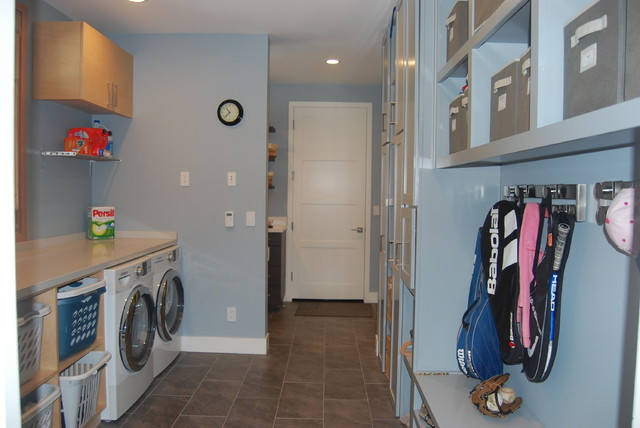 Modern mudroom - contemporary - laundry room - san francisco - by