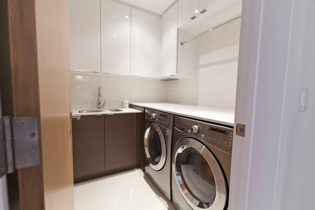 Modern Laundry Rooms modernist house - modern - laundry room - toronto -