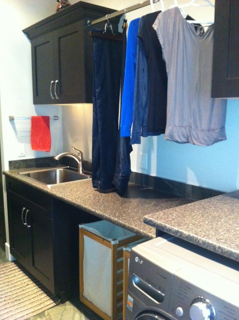 Morrison contemporary laundry room