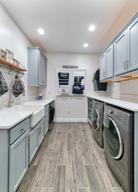 Mud Laundry Room Makeovertransitional