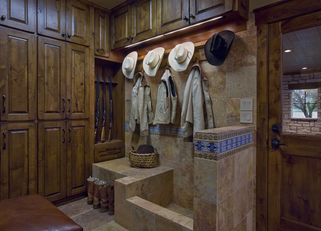 Mud Room and Dog Wash - traditional - laundry room - austin - by