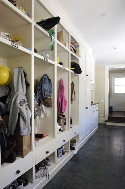 Mud Room Traditional Laundry Room San Francisco By