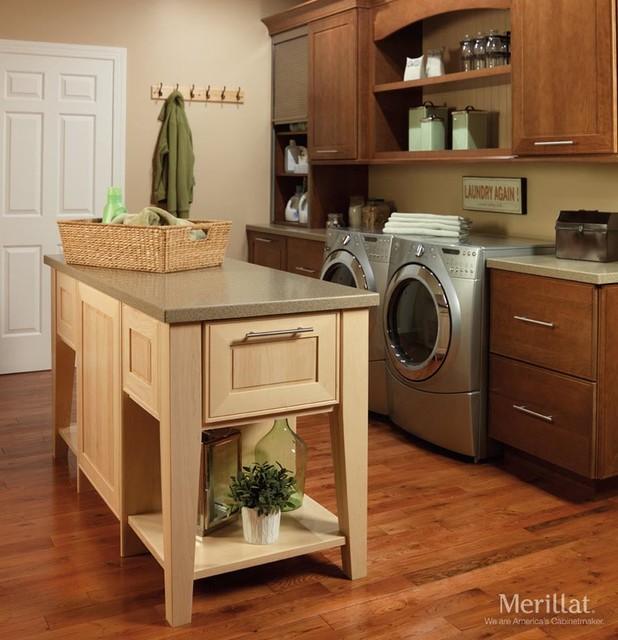 Merrilat Kitchen Cabinets: Laundry Room