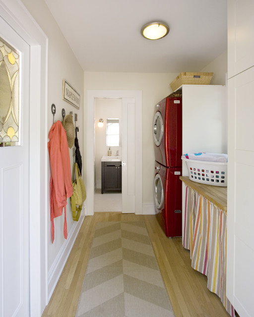 Mudroom Laundry Room And Powder Room Renovation And