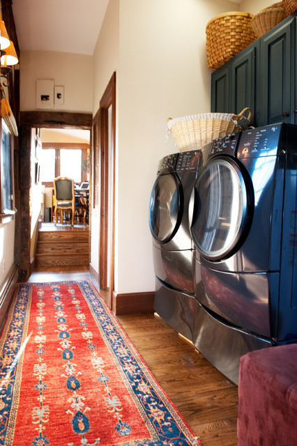 traditional laundry room by Mary Prince