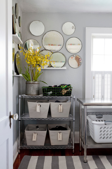 My Houzz: Relaxed, Classic and Collected in New Jersey eclectic-laundry-room