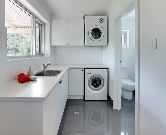 Natural Laundry Room Contemporary Laundry Room Adelaide By Brilliant Sa