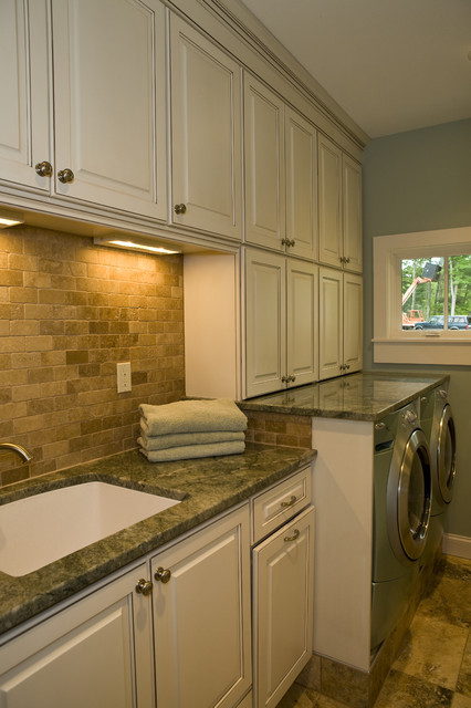 New England Cottage contemporary laundry room
