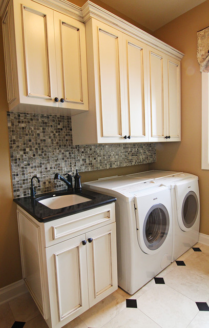 New Home DPaa traditional-laundry-room