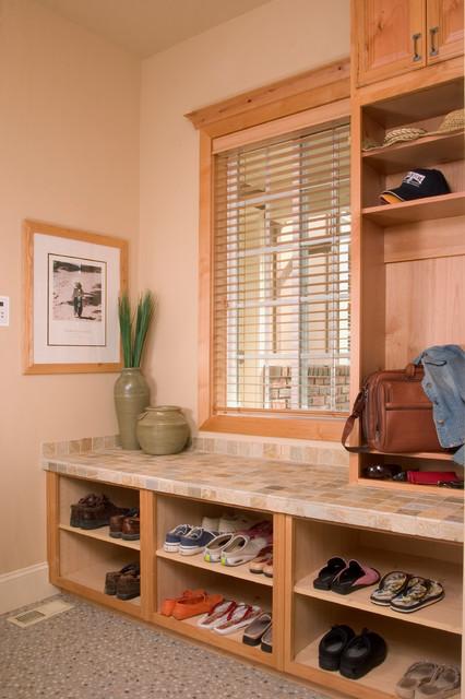 New Home contemporary-laundry-room