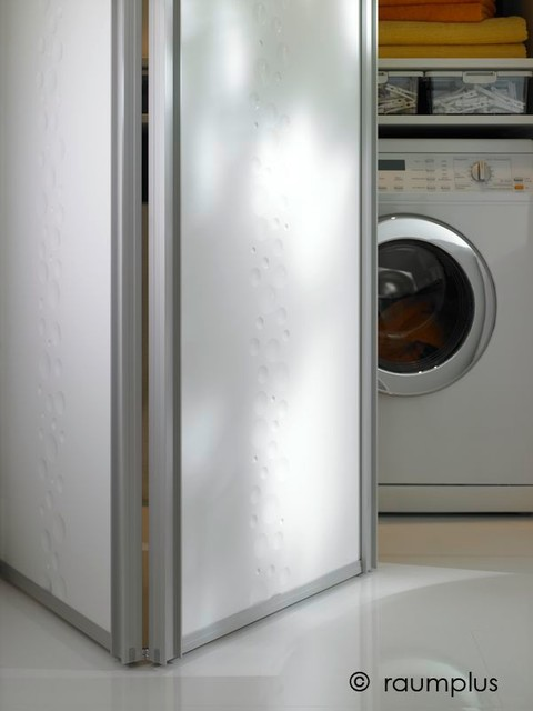 New Raumplus Bi Fold Door Contemporary Laundry Room