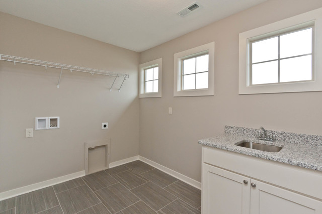New Urbandale Home traditional-laundry-room
