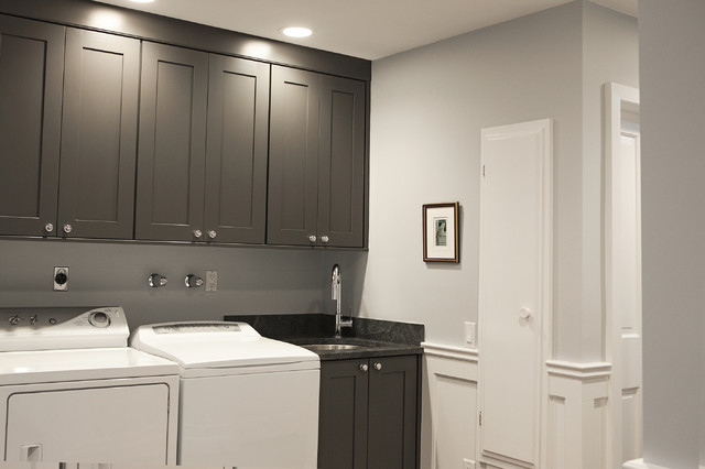 New York Area Interior - Traditional - Laundry Room - new york - by Debra Kling Colour Consultant