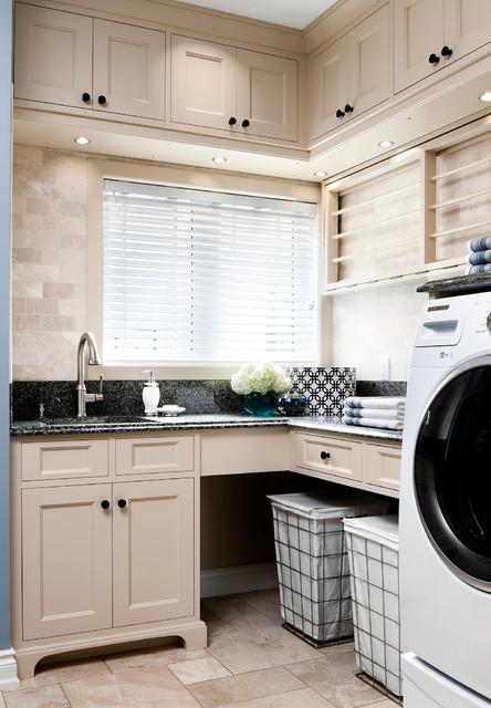 NKBA Award-Winning Laundry Room - Traditional - Laundry ...